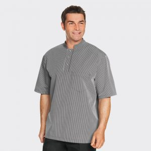 MM0220 Men's Black Stripe Tunic